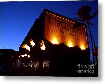 Turtle Bay Resort After Sunset Metal Print by Aloha Art