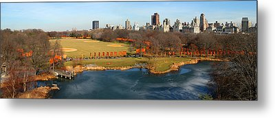 Metal Print featuring the photograph Turtle Pond by Yue Wang