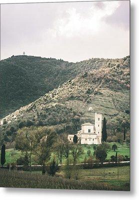 Tuscan Church Metal Print