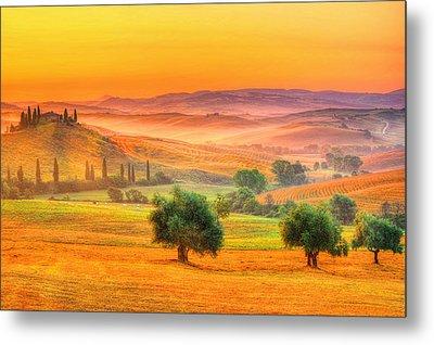 Tuscan Dream Metal Print