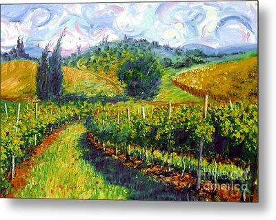 Tuscan Wind Metal Print by Michael Swanson