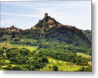 Tuscany - Castiglione D'orcia Metal Print by Joana Kruse