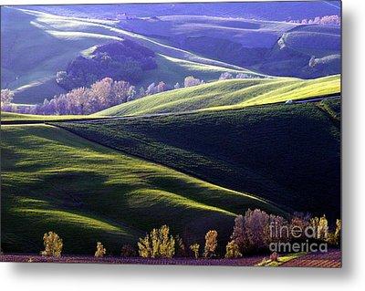 Tuscany Hills Metal Print by Arie Arik Chen