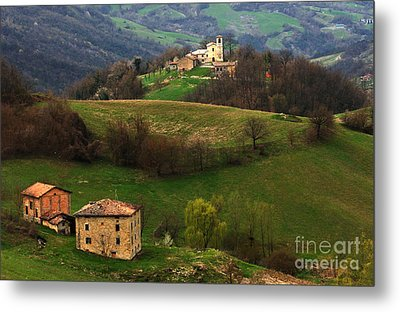Tuscany Landscape 3 Metal Print by Bob Christopher