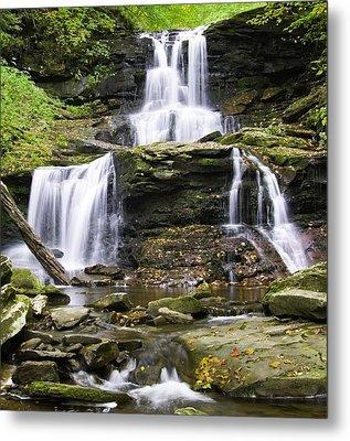 Tuscarora Falls Metal Print