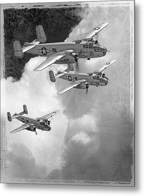 Tuskegee Airman...616th Bombardment Group Metal Print by Larry McManus