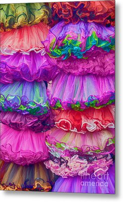 Tutus By The Dozen Metal Print by Kathleen K Parker