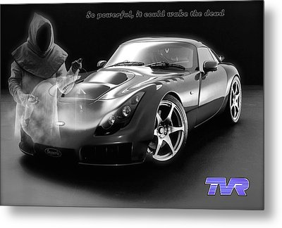 Tvr - Waking The Dead Metal Print by ISAW Gallery