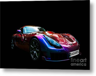 Metal Print featuring the photograph Tvr Sagaris by Matt Malloy