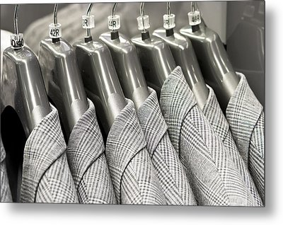 Tweed Suit Jackets Metal Print by Tom Gowanlock