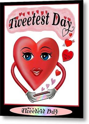 Tweetest Day Metal Print by Glenn Holbrook