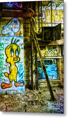 Metal Print featuring the photograph Tweety by Debra Fedchin