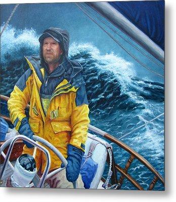 Twelve Foot Seas Metal Print by Dan Fusco