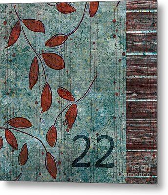 Twenty-two - Dc0102 Metal Print by Variance Collections