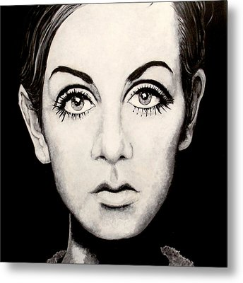 Twiggy Metal Print by Austin Angelozzi
