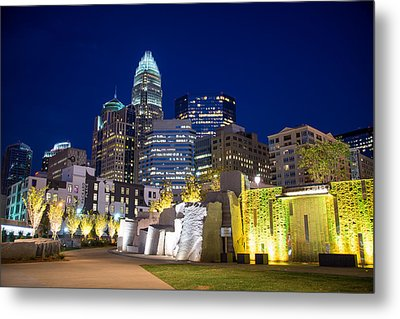 Twilight In Charlotte Metal Print by Serge Skiba