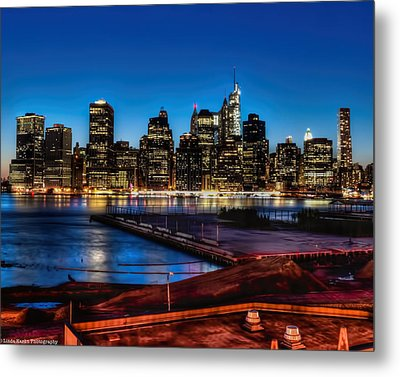 Metal Print featuring the photograph Twilight Of Honor by Linda Karlin
