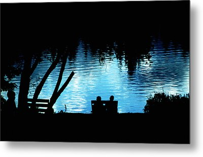 Metal Print featuring the photograph Twilight Reverie by Mike Flynn