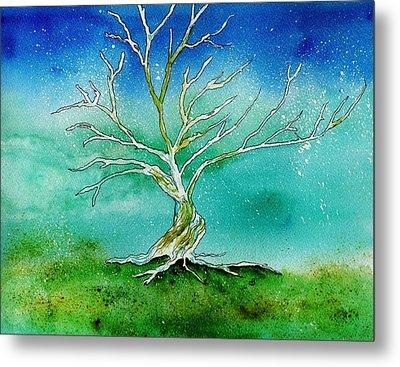 Twilight Tree Metal Print