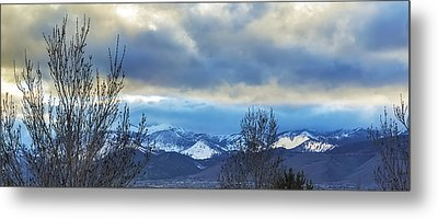 Metal Print featuring the photograph Twilight's Sky by Nancy Marie Ricketts