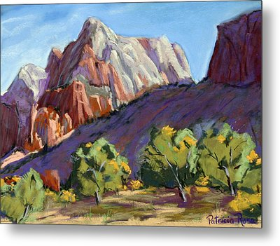 Twin Brothers Vista Metal Print by Patricia Rose Ford