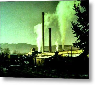 Twin Peaks Metal Print