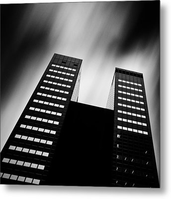 Twin Towers Metal Print by Dave Bowman