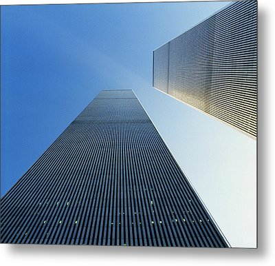 Twin Towers Metal Print by Jon Neidert