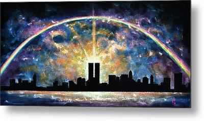 Twin Towers Live Again Metal Print by Thomas Kolendra