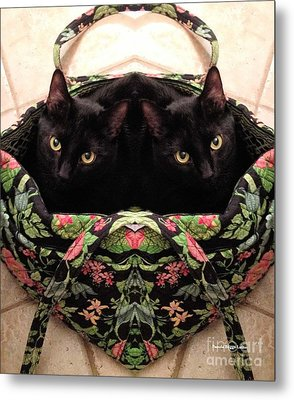 Metal Print featuring the photograph Twins by Luther Fine Art