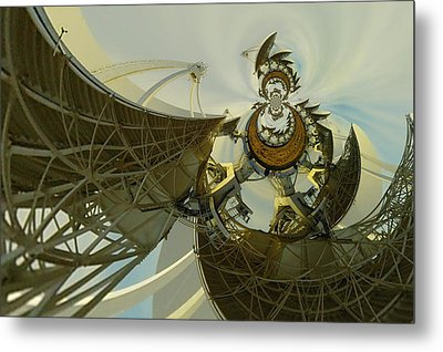 Twisted Beauty Of Chaso Metal Print by Jeff Swan