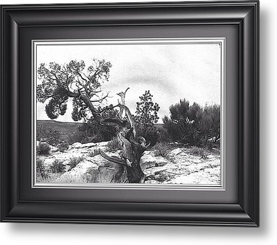 Twisted. Natures Prank Metal Print