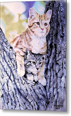 Two Amigos Metal Print by Hendrik Hermans