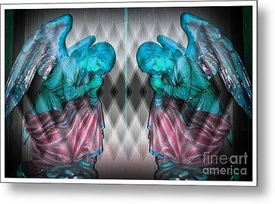 Two Angels Metal Print