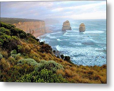 Two Apostles - Great Ocean Road - Australia Metal Print