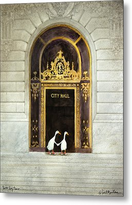 Two By Two... Metal Print