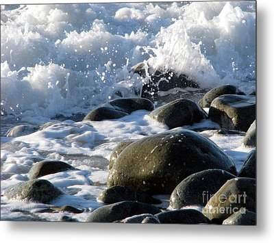 Metal Print featuring the photograph Two Elements by Jola Martysz