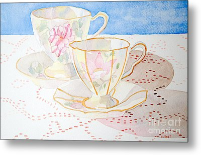 Two For Tea Metal Print