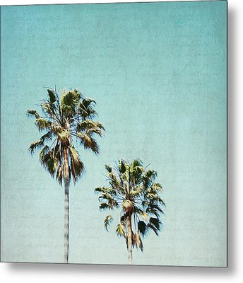 Metal Print featuring the photograph Two For The Sun - Square by Lisa Parrish
