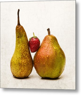 Two Lives One Heart - Square Metal Print by Alexander Senin