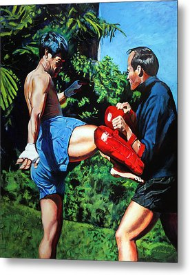 Two Masters Metal Print by Mike Walrath