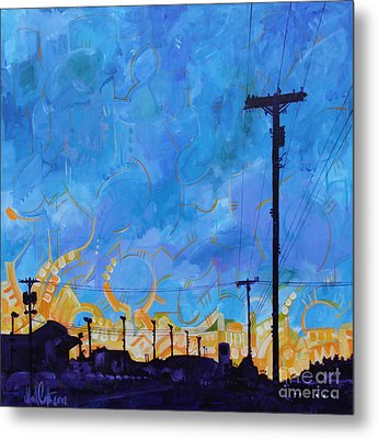 Two Minute Drive Metal Print by Michael Ciccotello