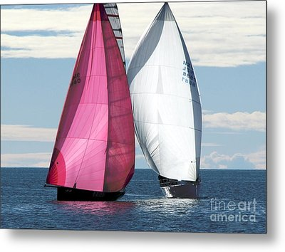 Metal Print featuring the photograph Two Of Us by Jola Martysz