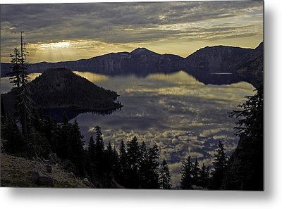 Two Skys At Sunrise Metal Print by Gary Neiss
