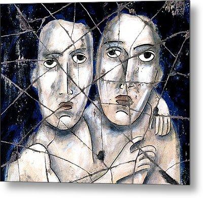 Two Souls - Study No. 1 Metal Print by Steve Bogdanoff