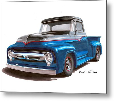 Two Tone To Know Metal Print by Paul Kim