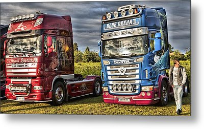 Two Up Metal Print by Mick Flynn
