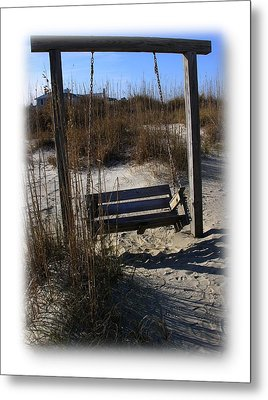 Metal Print featuring the photograph Tybee Island Georgia by Jacqueline M Lewis