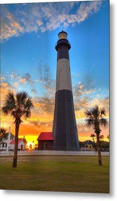 Tybee Island Sunrise Metal Print by Gordon Elwell