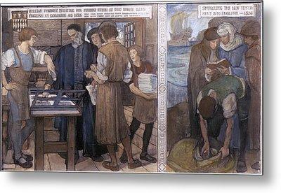 Tyndale's Bible, 1525-26 Metal Print by Granger